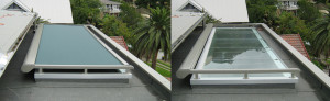 Glass Roof Shade