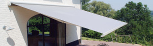 Refractable Folding Arm Awnings