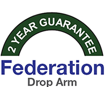 Federation Drop Arm Warranty