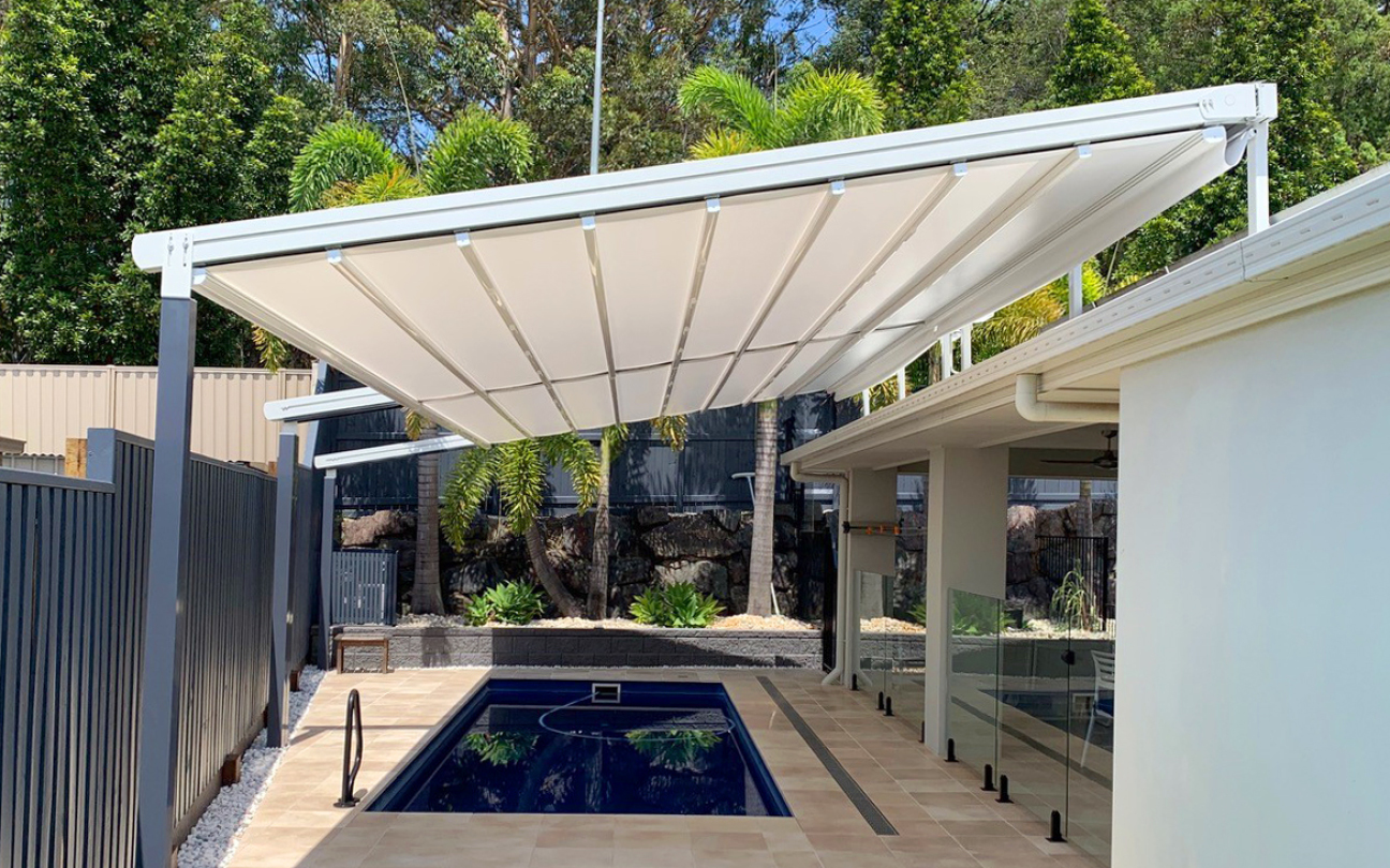 Flat Retractable Roof System